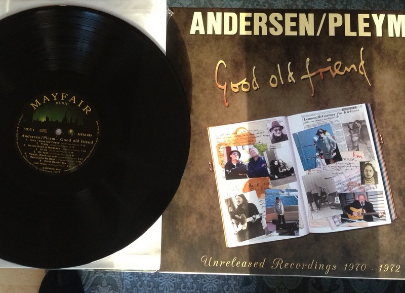 Andersen / Pleym Lp nr 2 Good old friend 2016